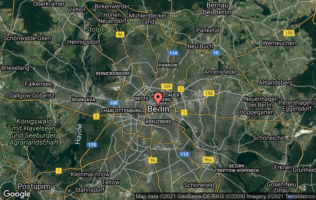 Berlin Pruvodce A Zajimava Mista Cestovinky