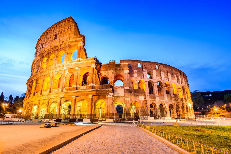 Koloseum bylo ve své době největším amfiteátrem postaveným v římské říši.