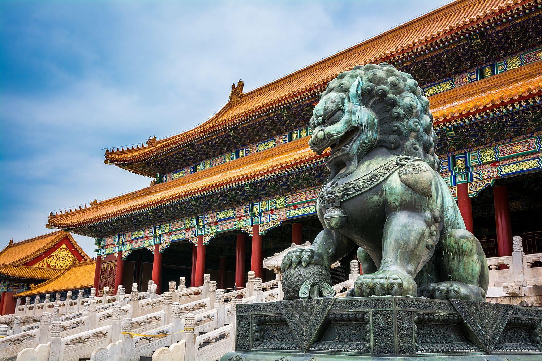 V centru Pekingu je naštěstí dost památek, o které je dobře postaráno.
