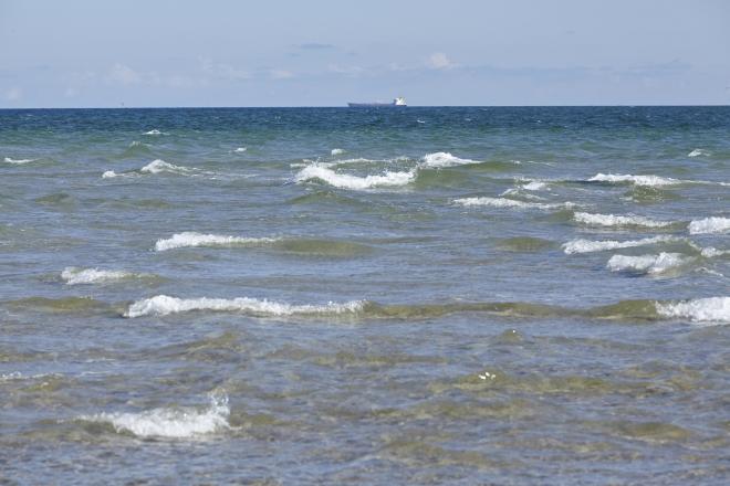 Na střet Baltského a Severního moře je naživo fascinující pohled.