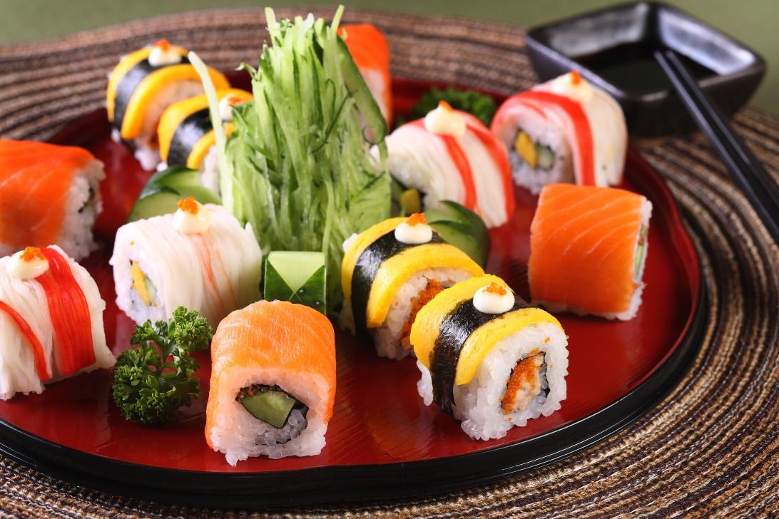 Oblibu japonských jídel zvyšuje jejich exotický vzhled.