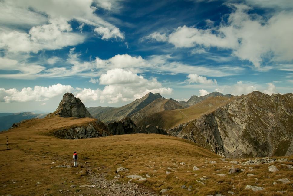 Cesta na Negoiu – druhý nejvyšší vrchol pohoří Fagaraš.