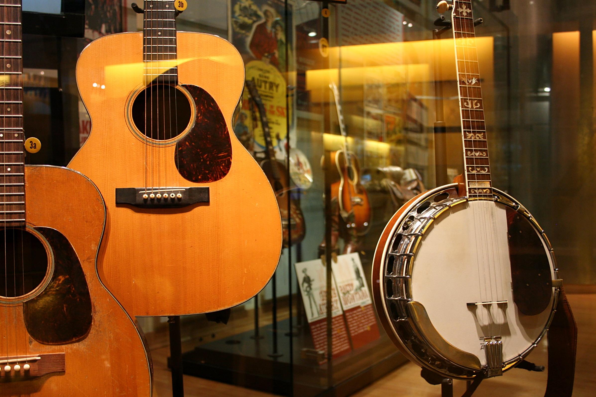 V Nashville pochopitelně mají i muzeum country, to by jinak nešlo.
