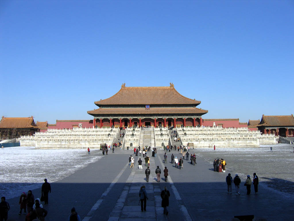 Zakázané město je komplex, ve kterém po více než 500 let žili čínští císaři.