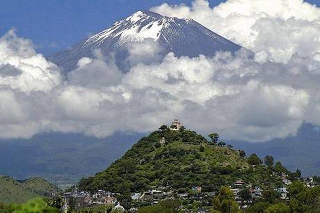 Sopka Popocatépetl