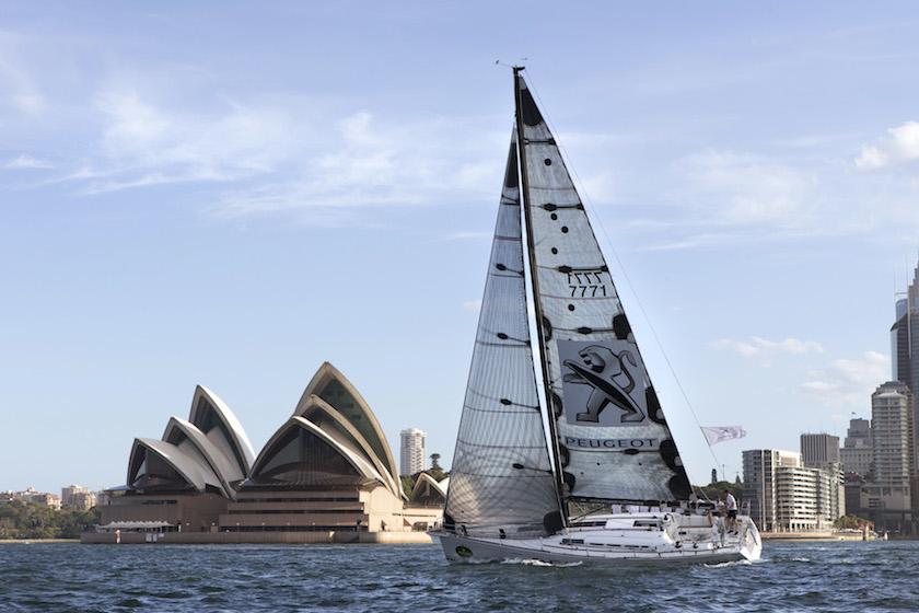Závod Sydney - Hobart je dlouhý 630 námořních mil.