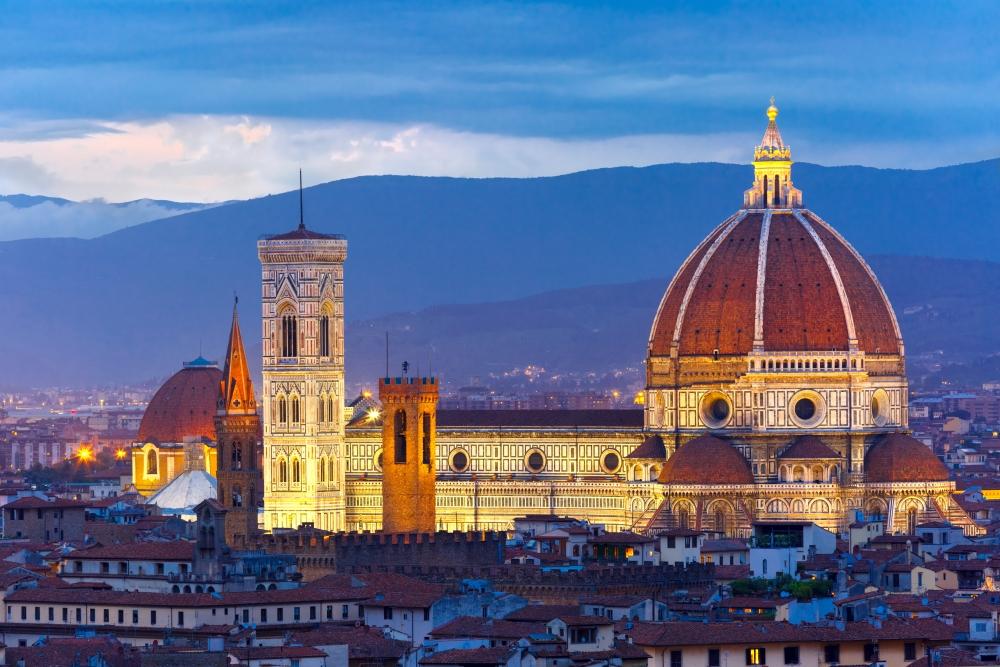 Katedrála je považována za třetí největší v zemi.