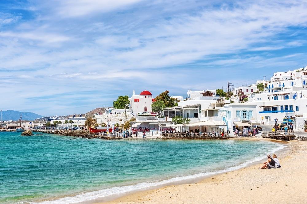 Na řeckých plážích je nádherně.