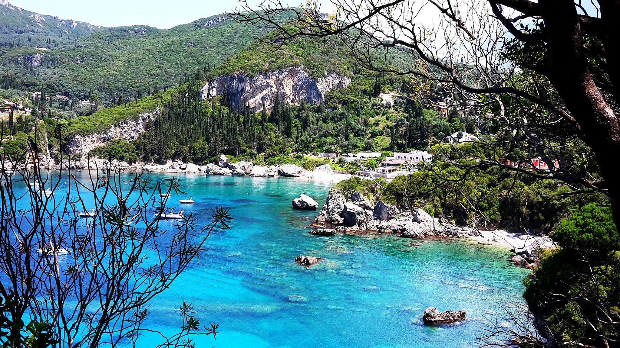 O krásná místa v Řecku prostě není nouze.