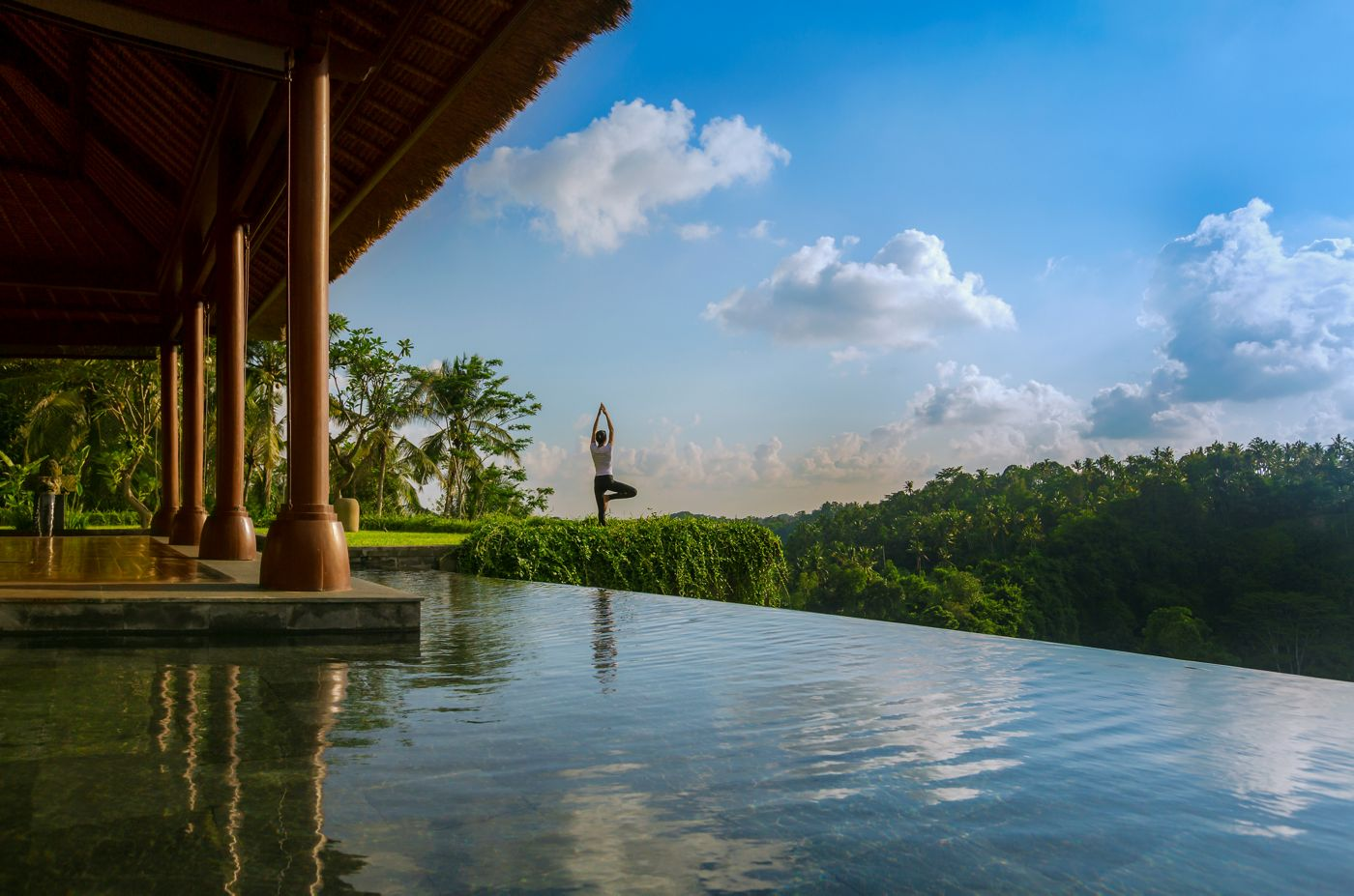 V mandapském Ritzu mají suverénně nejkrásnější výhled ze všech oceněných hotelů.