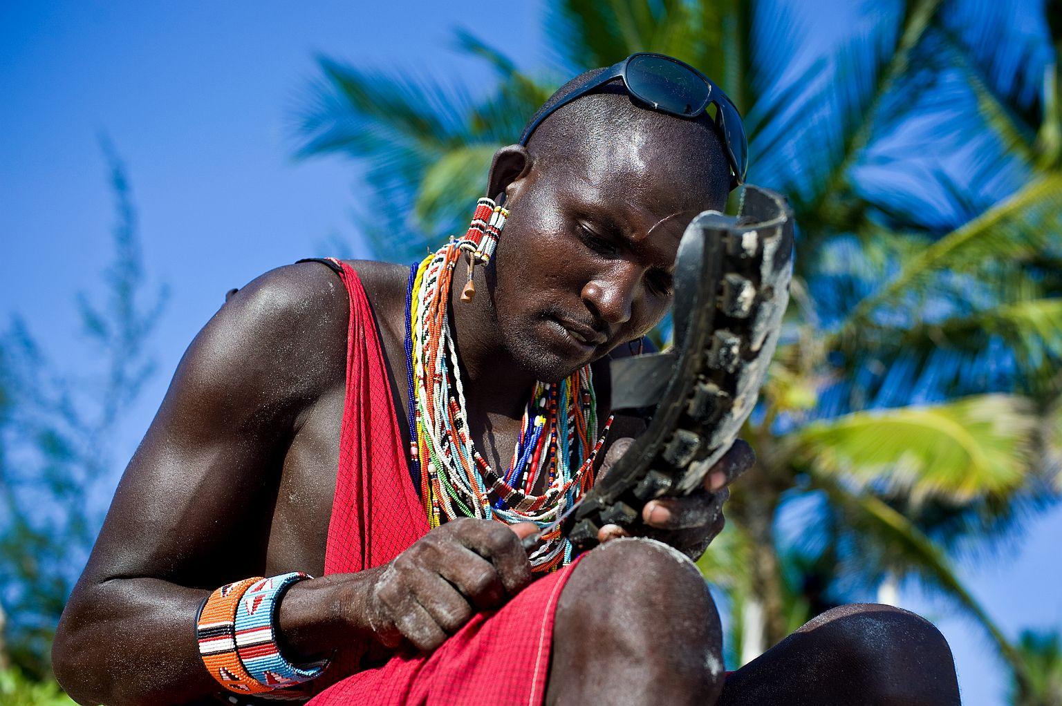 Tak vypadá živý Masaj.