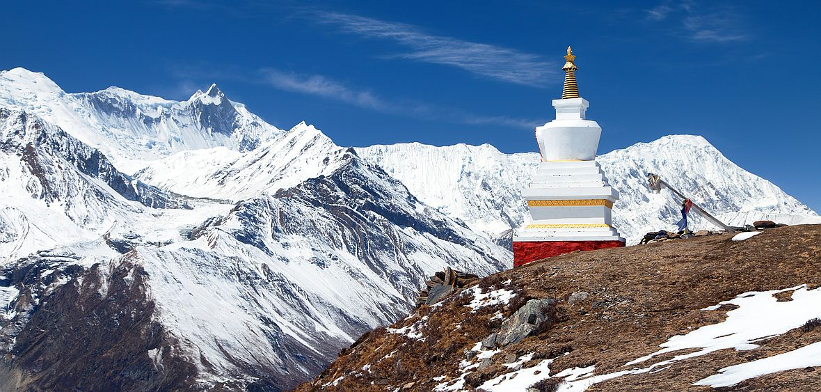 Annapurna vypadá nádherně, ovšem vylézt na ní není vůbec jednoduché.