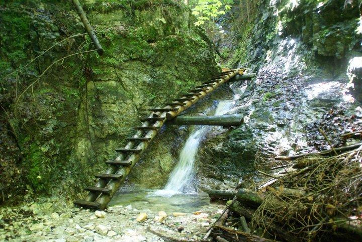 Slovenský ráj může nabídnout několik skutečně pěkných míst.