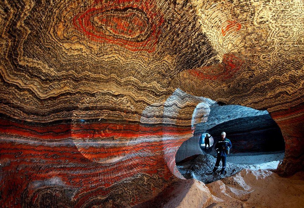 Solný důl pod Jekatěrinburgu v Jekatěrinburgu je využíván jen zčásti. Přesto je sem vstup veřejnosti přísně zakázán.