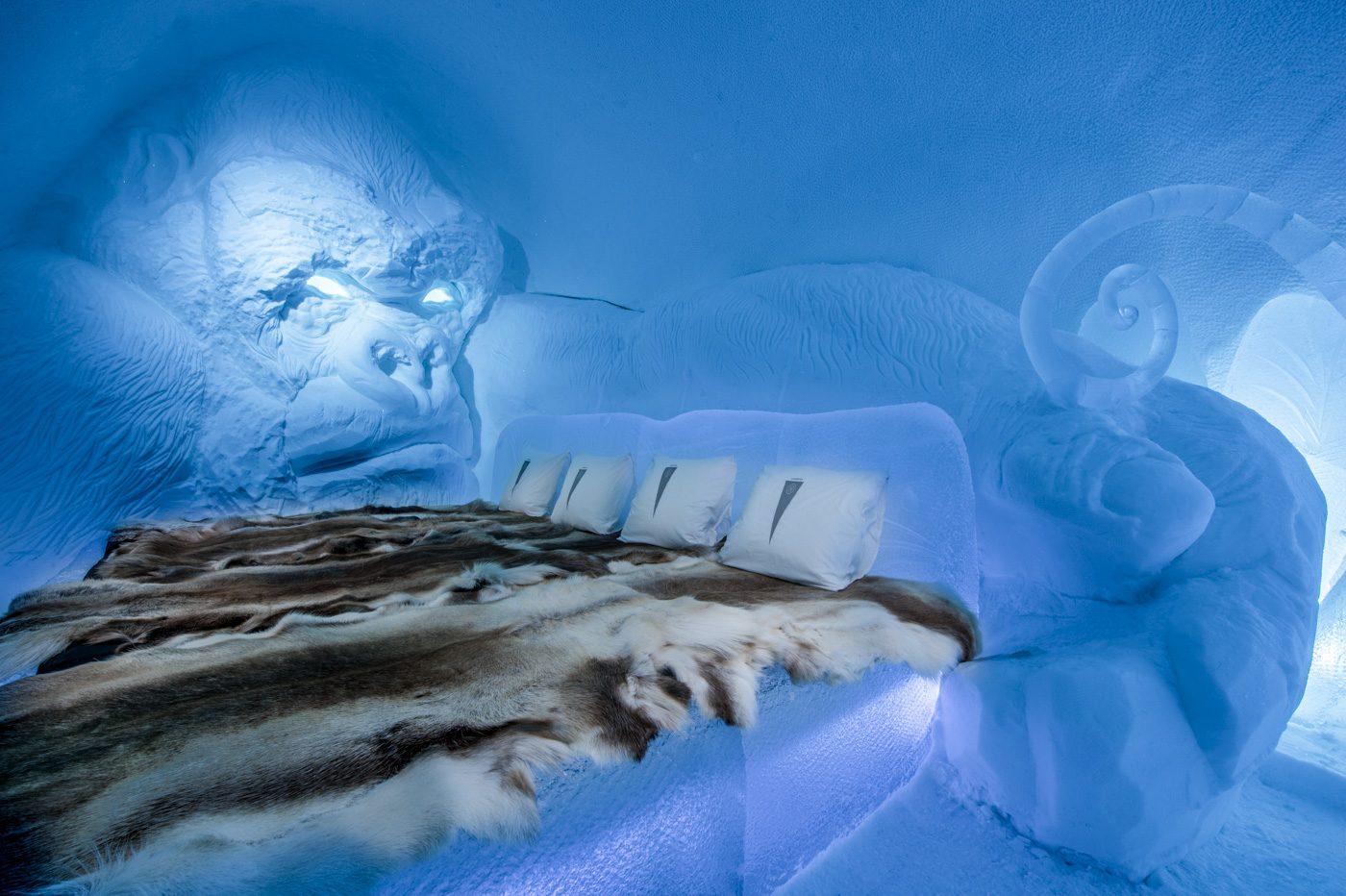 King Kong v životní velikosti? I to vás letos čeká ve švédském Icehotelu