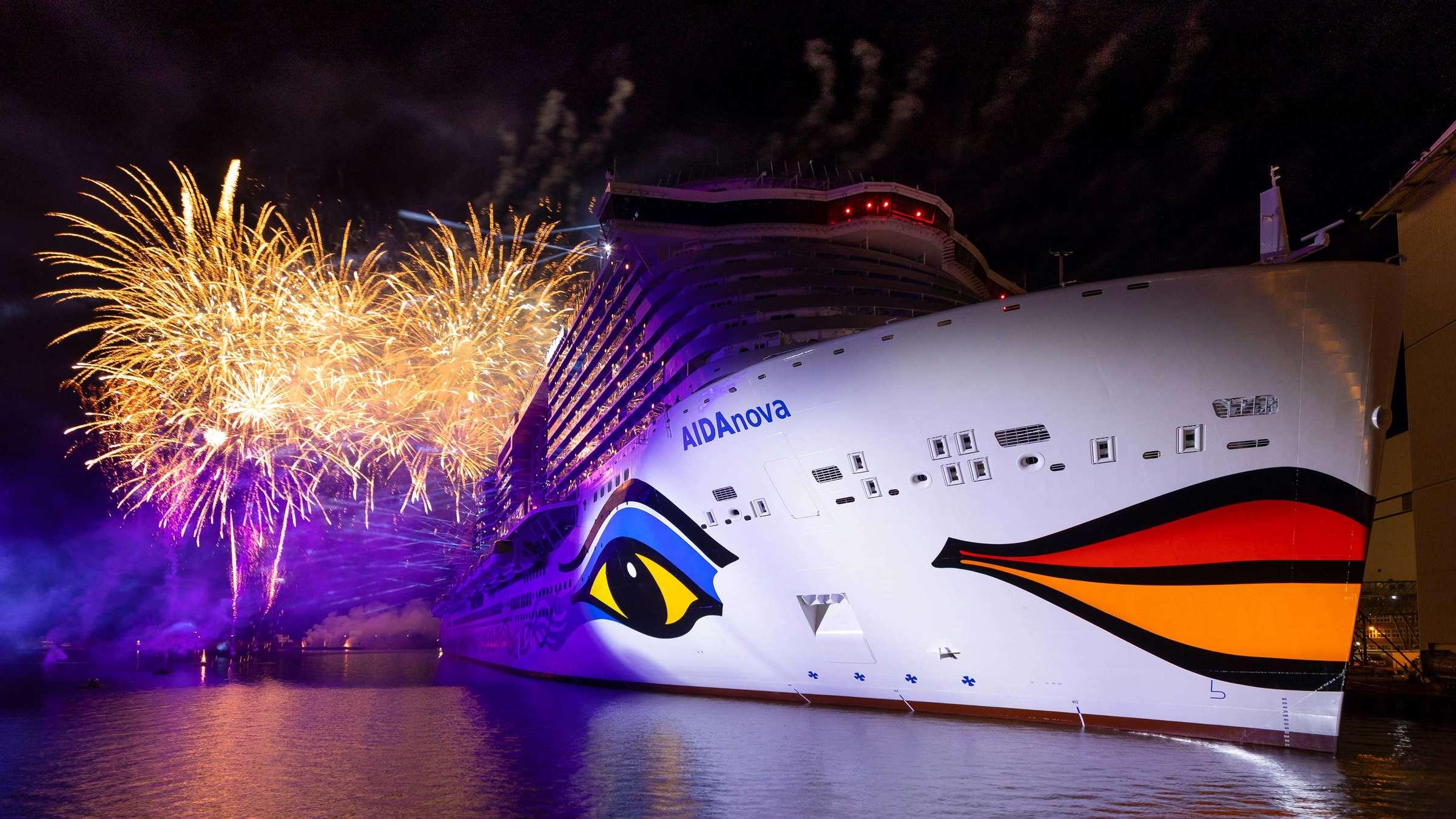 AIDAnova je nejekologičtější lodí současnosti